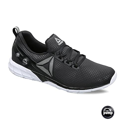 f5ddf0a6788 Reebok Men s Zpump Fusion 2.5 FL Black and White Running Shoes - 11 UK India  (45.5 EU)(12 US)  Buy Online at Low Prices in India - Amazon.in