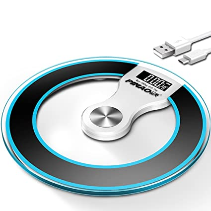 Báscula digital Báscula electrónica USB Cargar Cuerpo báscula Gran ...