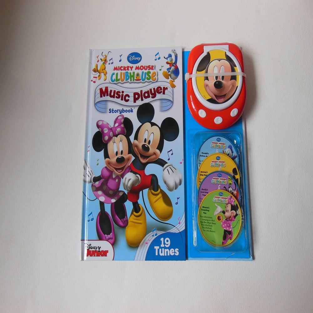 Mickey Mouse Clubhouse Music Player And Storybook: Amazon co