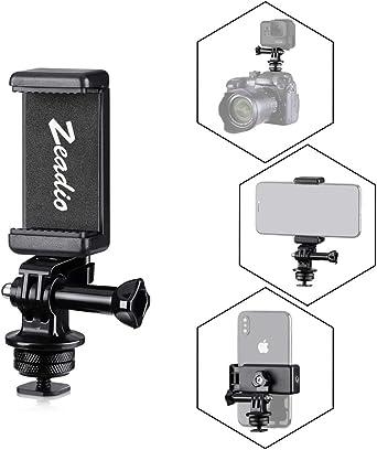 zeadio - Kit de adaptadores multifunción para trípode, con Soporte ...