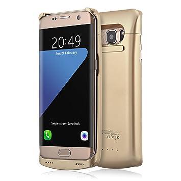 Muze Samsung Galaxy S7 Edge CASE Slim recargable batería Galaxy S7 ...