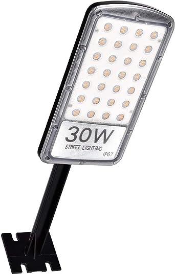 30W Pared Lámparas, Sararoom 3000LMFarolas LED para Exterior, IP67 Impermeable Luz de la Calle, Farolas de LED 3000K Blanco cálido, para Balcones,Jardín,Paredes,Caminos,Porches: Amazon.es: Iluminación