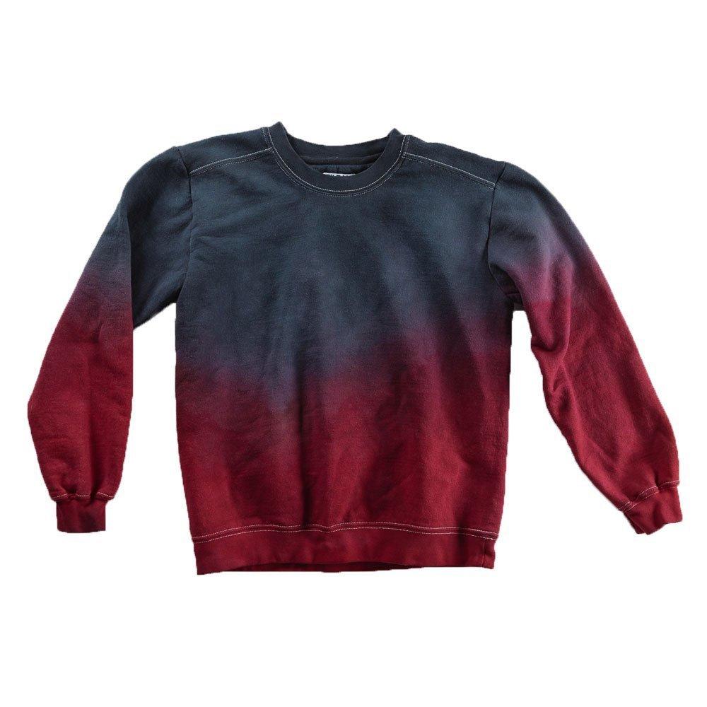 Black and Red Tie Dye Sweatshirt Unisex Festival Hoodie Grateful dead Plus Size S, M, L, XL, XXL by Masha Apparel