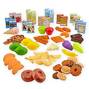 Just Like Home Dessert and Snack Play Food Bucket