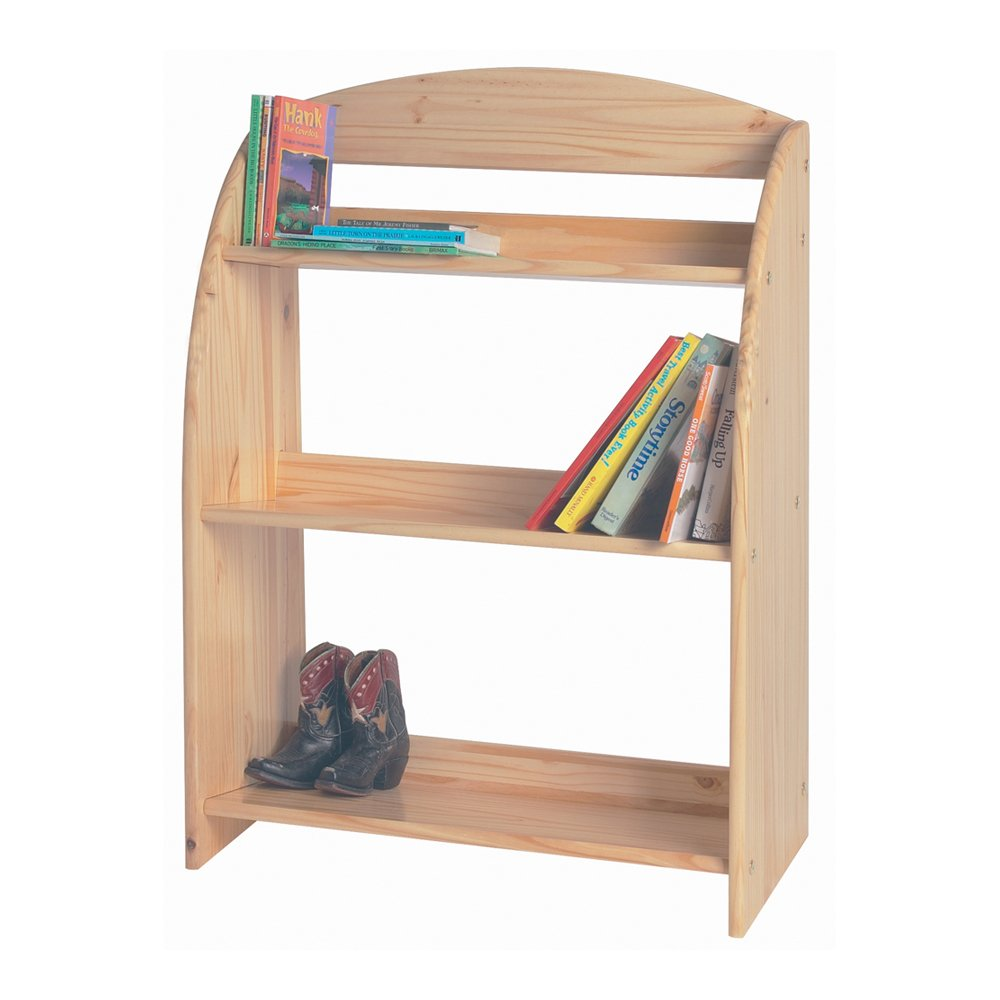 Little Colorado Children Kids Bookcase Storage Organizer Sanded and Unfinished by Little Colorado