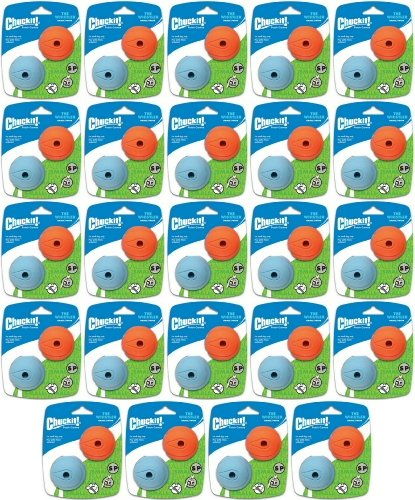 Chuckit! The Whistler Ball Small 48pk (24 x 2pk) by Chuck It