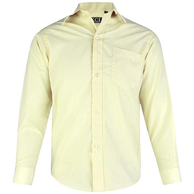 Amazon.com: aelstores. Boys Llanura camisa formal de manga ...