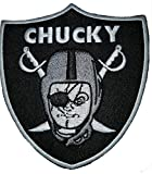 Chucky Raiders Patch Oakland Raiders Football Raider Nation Patch