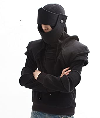 3b7712f9731e Amazon.com  Greekknight Men s Duncan Armored Hoodie 100% Handmade  Clothing