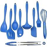 Chef Craft 9 piece Silicone Set, Blue