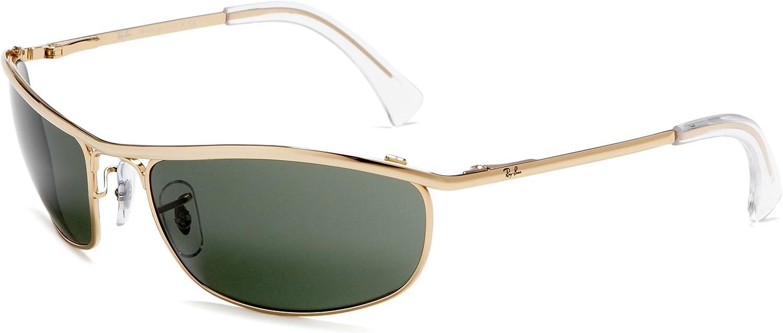 RAY-BAN RB 3119 Gafas de sol, Dorado, 62 para Hombre