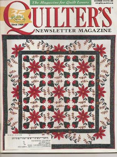 - Quilter's Newsletter Magazine, December 2004 (Volume 35, Number 11, Issue Number 368)