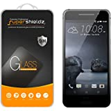 HTC One A9 Tempered Glass Screen Protector, Supershieldz Ballistics Glass 9H Hardness Anti-Scratch, Anti-Fingerprint, Bubble Free -Crystal Clear - Retail Packaging