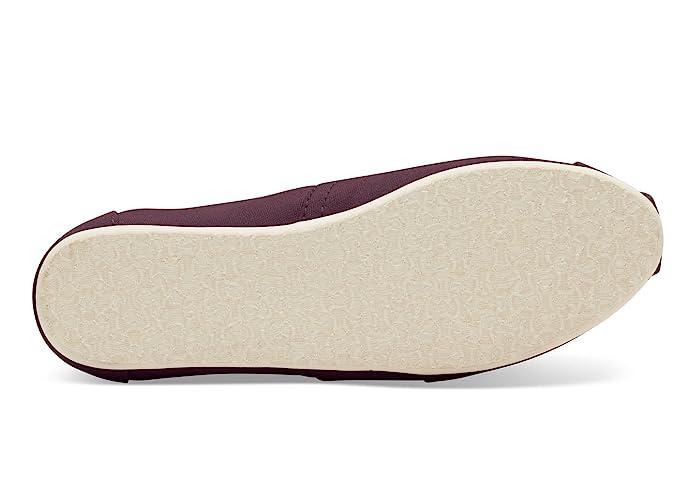Amazon.com | TOMs 10008749 : Womens Alpargata Slipper, Red Mahogany | Shoes