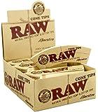 768Filtros Raw Natural Maestro Tips Cone 24librillos papel de 321Box
