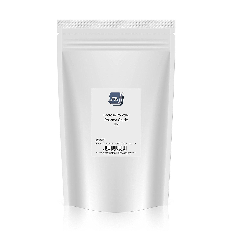 Pharma Grade Lactose Powder | Create Amazing Tasting Tablets (5KG) by LFA Tablet Presses