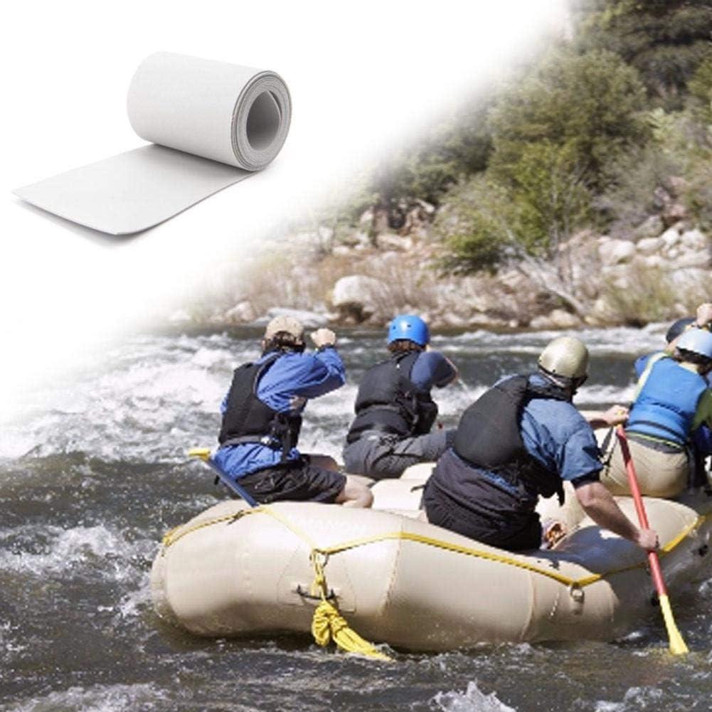 Schlauchboot Reparatur PVC Repair Kit Kleber Reparaturflicken PVC Flicken Aufblasbares Boo PVC Flicken Reparaturset Schlauchboot Reparatur Flickzeug Wasserfeste Loch Reparaturset F/ür Schlauchboot