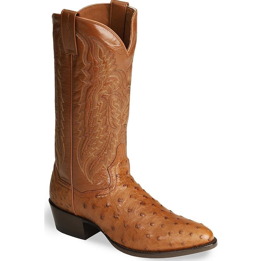 DP2324 Dan Post Men's Tempe Western Boots - Cognac - 9.5D
