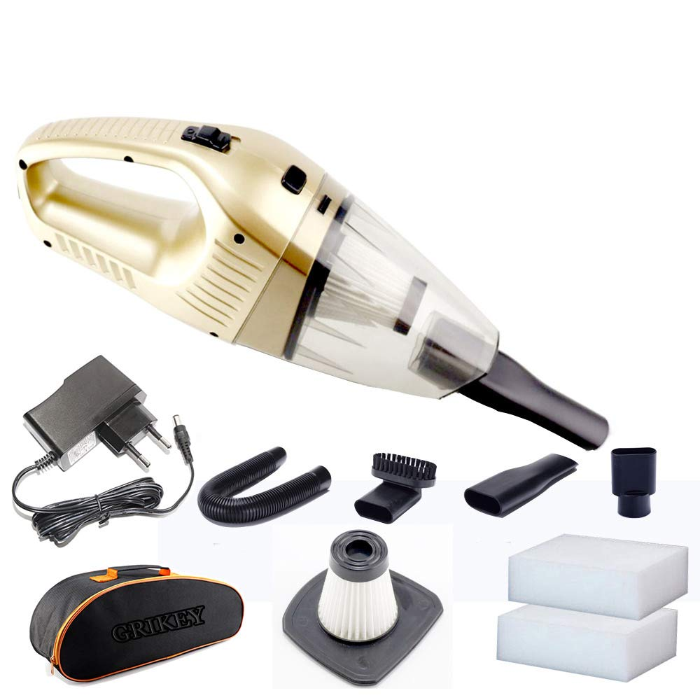 Powerful Wireless Car Vacuum Cleaner Mini Handheld Vacuum Cleaner Cyclone Car Dry Wet Cleaning 120W Gift KIT