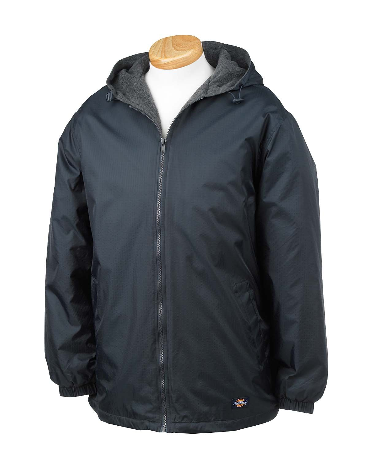 Dickies Men's Fleece-Lined Hooded Jacket Dickies Men' s Sportswear 33237
