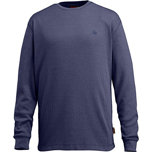 Wolverine Men's Walden Long Sleeve Tee, Navy, Medium