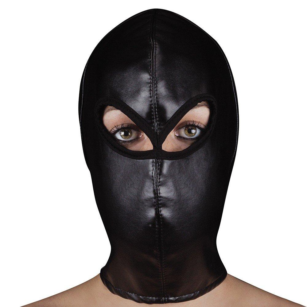 Ouch Extreme Leather Mascara Dos Orificios Con Ajuste: Amazon.es: Salud y cuidado personal