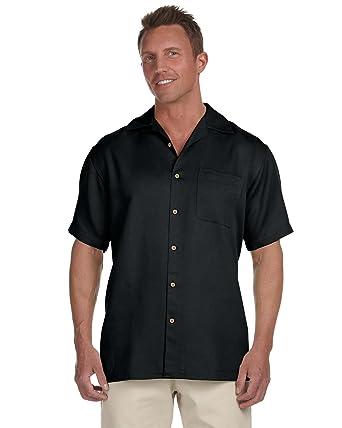 2b7f6cc82d4 Harriton Men s Bahama Cord Camp Shirt at Amazon Men s Clothing store