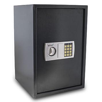 Büro & Schreibwaren Bituxx® Tresor Wandtresor Möbeltresor Safe Aktentresor Geldschrank Schwarz Sicherheitstechnik