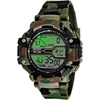 Skylofts Sport Digital Round Dial Sport Style Trendy Digital System Waterproof Watch for Boys Children & Men