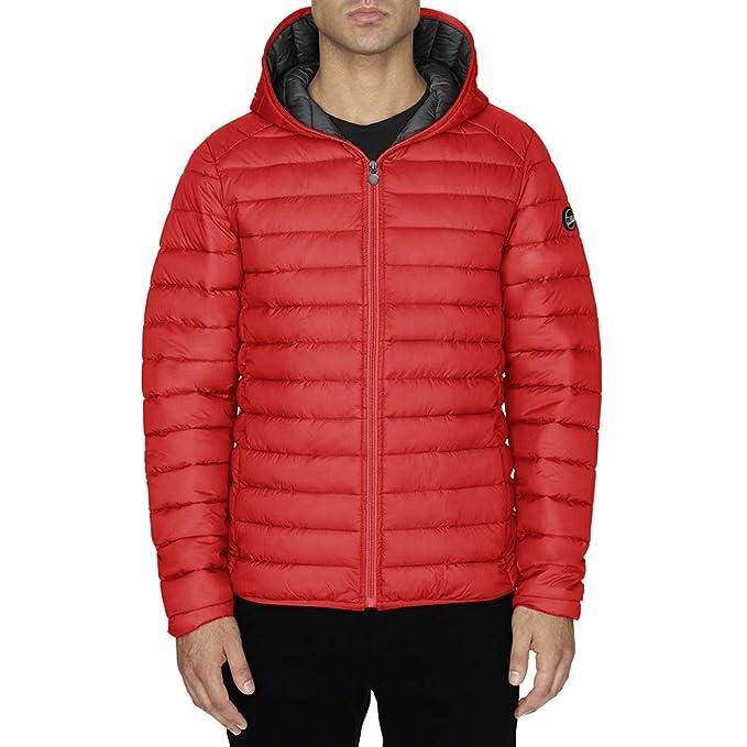 Chaqueta Hombre TWIG Ultralight Jacket 100gr Ultra Ligera Abrigo Parka Capucha Red (M)