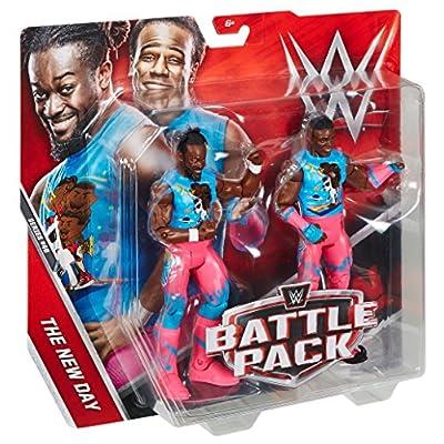 WWE Kofi Kingston & Xavier Woods Action Figure (2 Pack): Toys & Games
