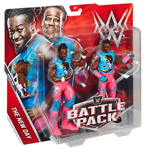 61n q9Tb7aL - WWE-Kofi-Kingston-Xavier-Woods-Action-Figure-2-Pack