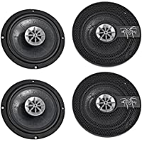 (4) SOUNDSTREAM SST.652 260 Watt RMS 6.5 2-way Car Audio Coaxial Speakers
