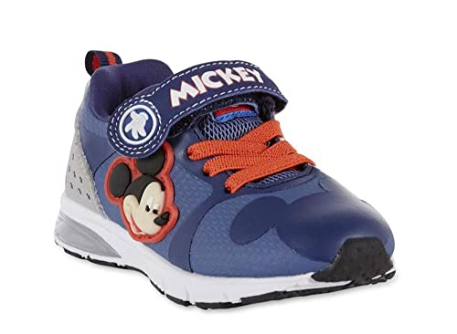 5f76405b5b52 Disney Toddler Boys Mickey Mouse Light-Up Blue Athletic Shoe (10)  Buy  Online at Low Prices in India - Amazon.in
