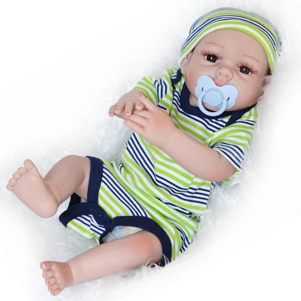 ventas calientes GAOYY Muñeca De De De Simulación Baño De Silicona Suave Bebé 55cm Educación Temprana Cuidado Materno Infantil Compañero Padre-Hijo,A  barato y de alta calidad