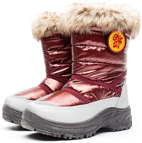 Toddler Snow Boots with Fur Lined
