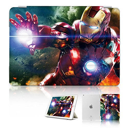 ( For iPad Air 2 ) Smart Case Cover - SMART30038 Super Hero Ironman