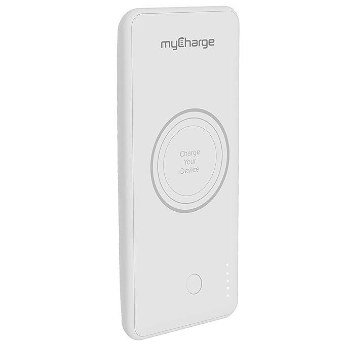 myCharge - Cargador inalámbrico Qi sin enchufe, 10 W/2,4 A ...