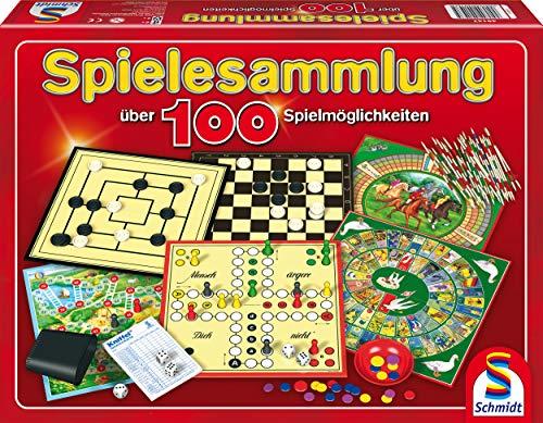 Spiele-Sammlung mit 100 Spielen für einen oder mehr Spieler ab 6 Jahren ()