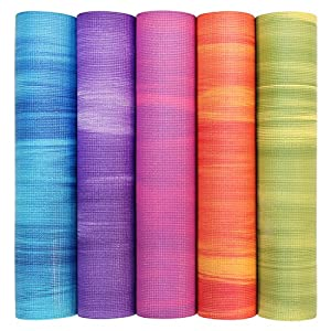 Yogamatte GANGES, Allround-Matte für Yoga, Gymnastik & Pilates mit guter...