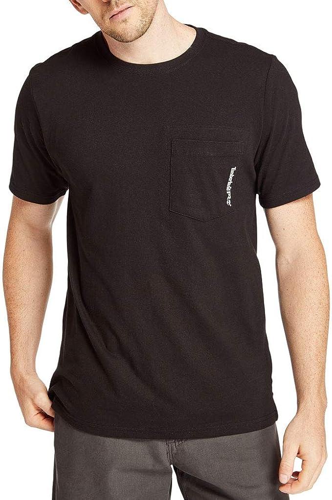 Timberland PRO Men's Base Plate Blended Short Sleeve T Shirt