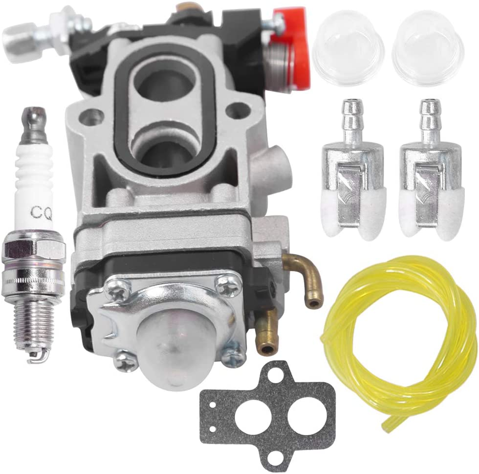 Carburetor W//Gasket Fuel Line Spark Plug For Husqvarna 350BT 150BT Backpack Leaf Blower Redmax EBZ8000 EBZ8000RH EBZ8500 EBZ8001 EBZ8050 EBZ8050RH Back Pack