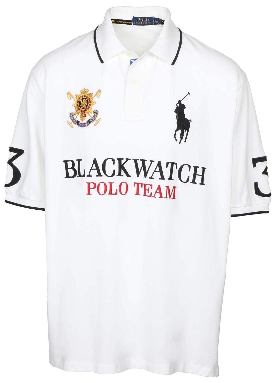 Polo Lauren Mesh Mens Classic Ralph Shirt Pony Tall Blackwatch Bigamp; Fit 5RL3Aj4