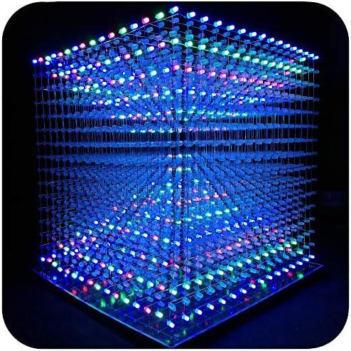 3D8S-MUTIL iCubeSmart 3D Led Cube Light DIY Kit With 3D ...
