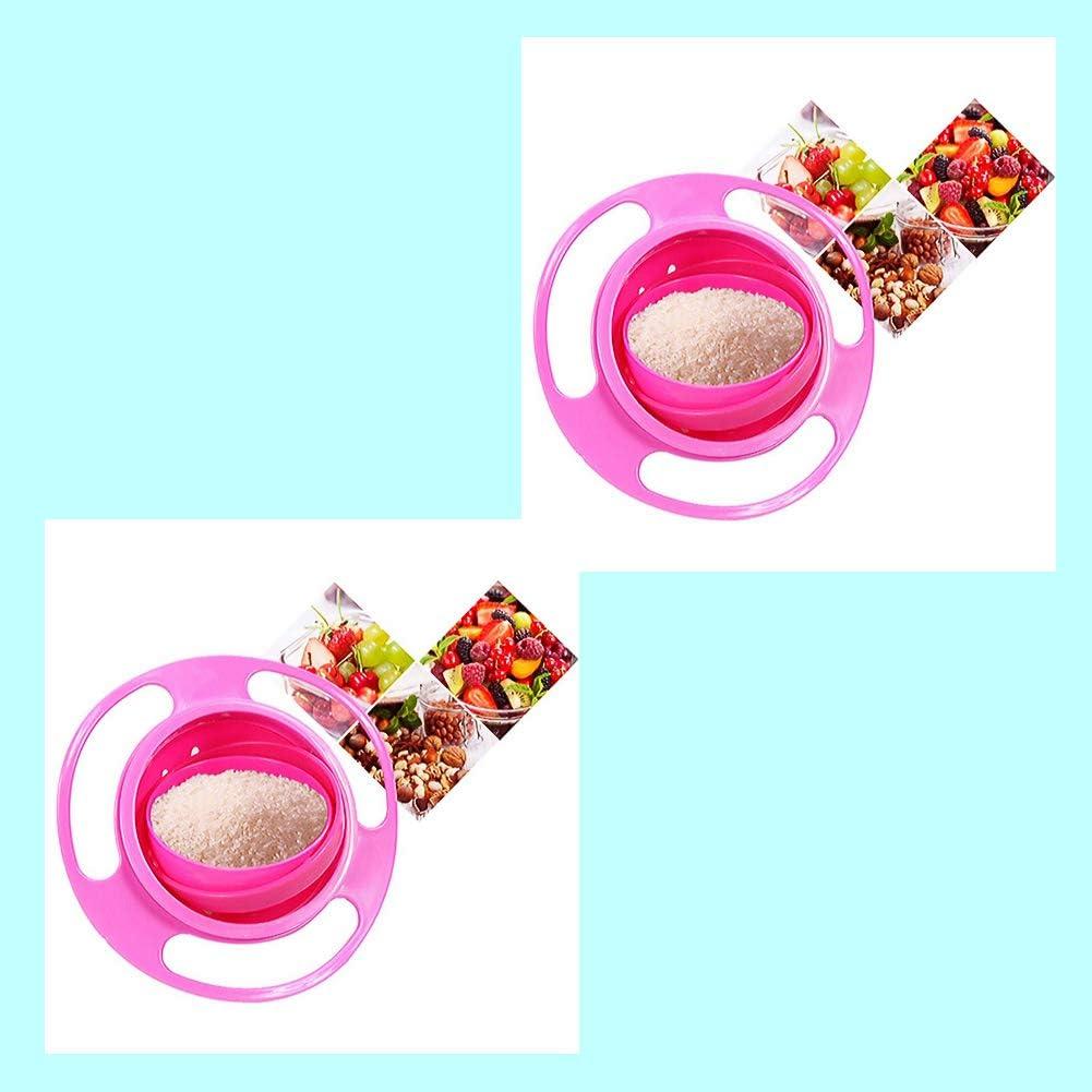Hilai Bol rotatif /à 360 /° pour enfant Rose