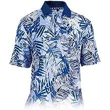 Monterey Club Mens Dry Swing Garden Leaf Jersey Shirt #1536