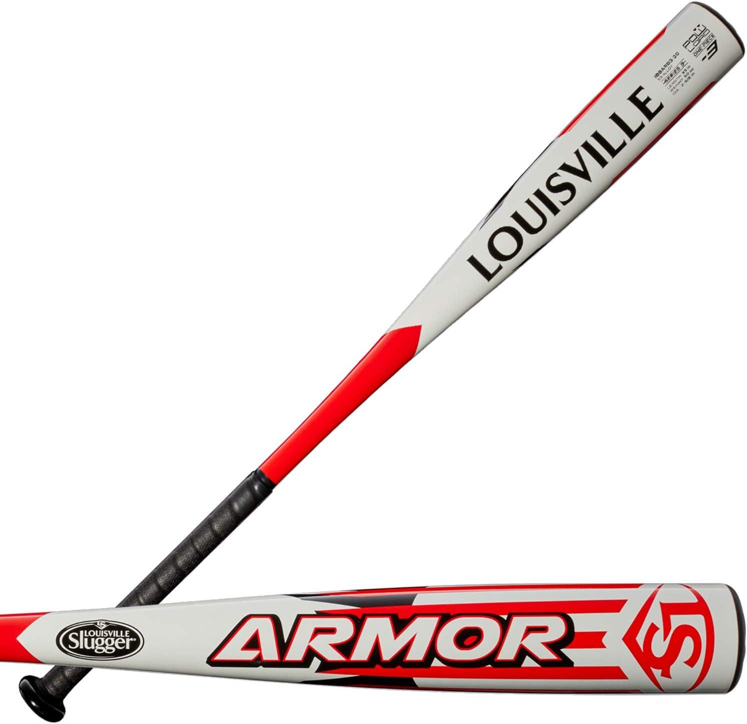 Wilson Bate de B/éisbol Dise/ño de Una Pieza Aluminio LS Armor Louiseville Slugger