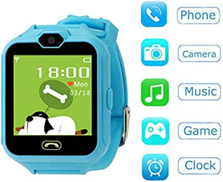 Hangang SmartWatch Reloj Kids Teléfono Smart Game Relojes ...