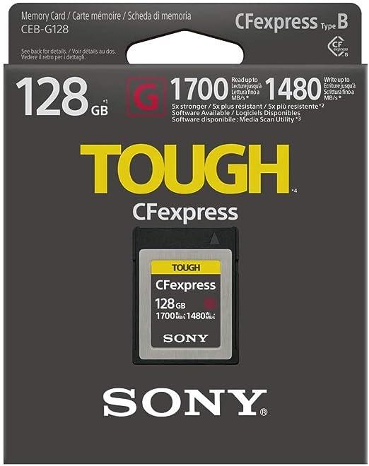 Sony Cfexpress Tough Speicherkarte 128 Gb Computer Zubehör