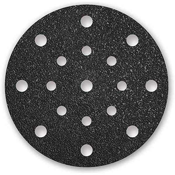 25 MENZER Klett-Schleifscheiben Exzenterschleifer 125 mm 8-Loch K24-36